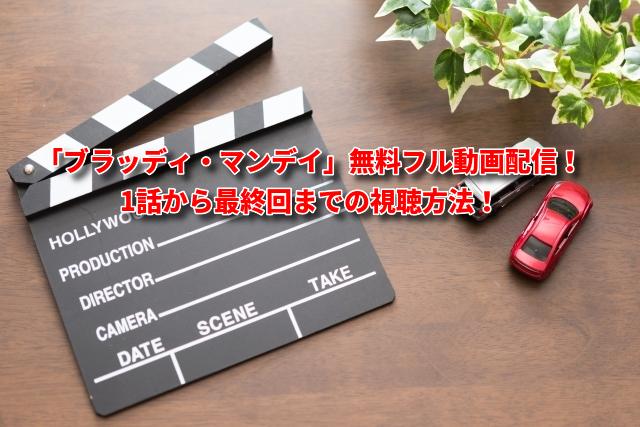 「ブラッディ・マンデイ」無料フル動画配信!1話から最終回までの視聴方法!